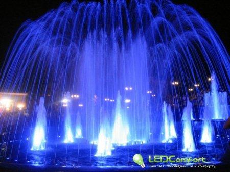Подсветка фонтанов