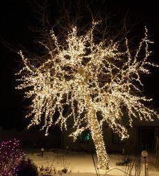 Светодиодные гирлянды, новогоднее оформление
