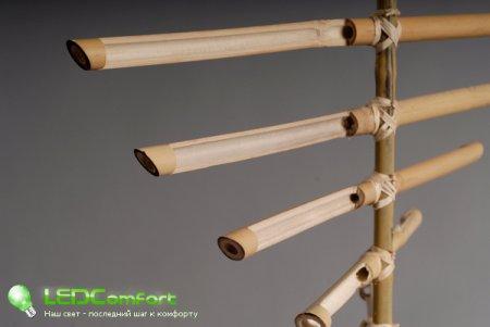 Креативные бамбуковые светильники