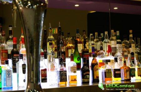 Светодиодная подсветка барной стоики