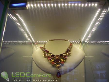 Светодиодная подсветка ювелирных изделий