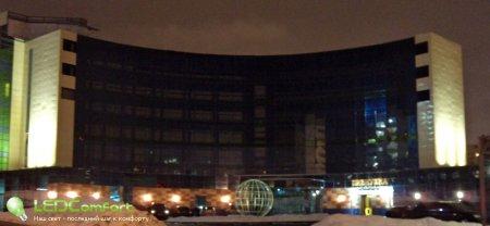 Архитектурное освещение зданий