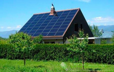 Солнечные батареи - альтернативный вид энергии