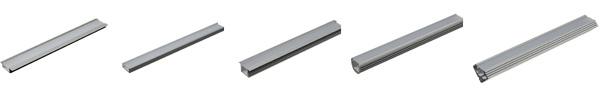 Алюминиевый профиль для монтажа светодиодной ленты