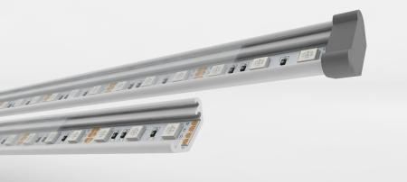 Новинки ассортимента профиля для светодиодной ленты и светодиодных светильников