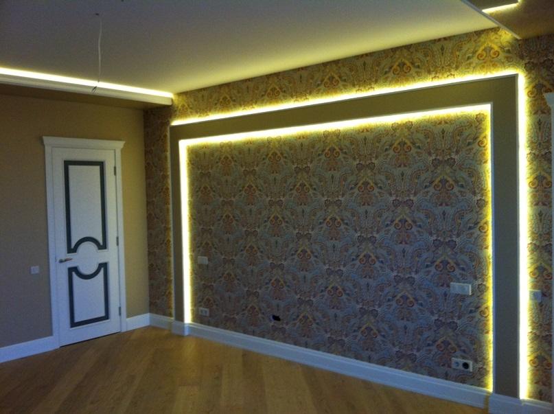 Как сделать подсветку на стене для