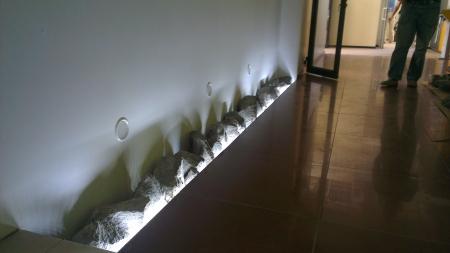 Декоративная подсветка камня
