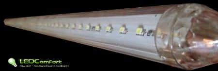 Светодиодная гирлянда LED Meteor White 80 см.