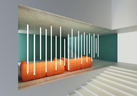 Пример использования профиля для светодиодного освещения