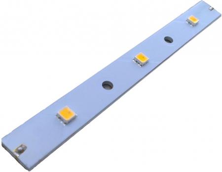Светодиодная линейка на 3х светодиодах Cree ML-E
