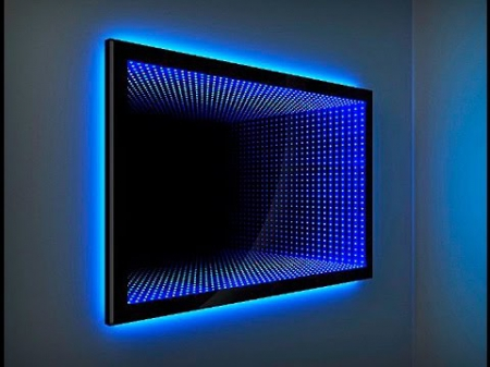 Зеркало с эффектом бесконечности.