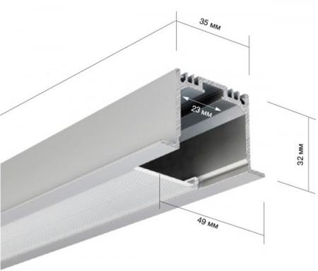 Алюминиевый профиль AluProf 23