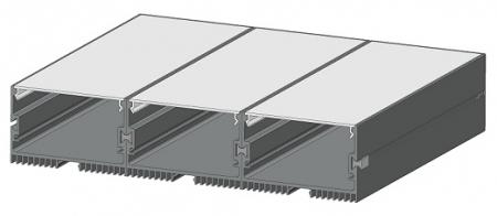 Профиль для светодиодного потолочного светильника AluProf 30