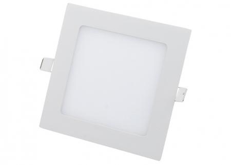 Врезные квадратные светодиодные светильники.