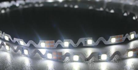 Светодиодная лента на гибкой S подложке.