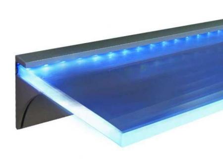 Профиль для подсветки стеклянных полок.