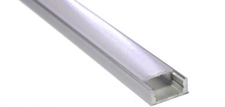Алюминиевый профиль для светодиодной ленты не анодированный.