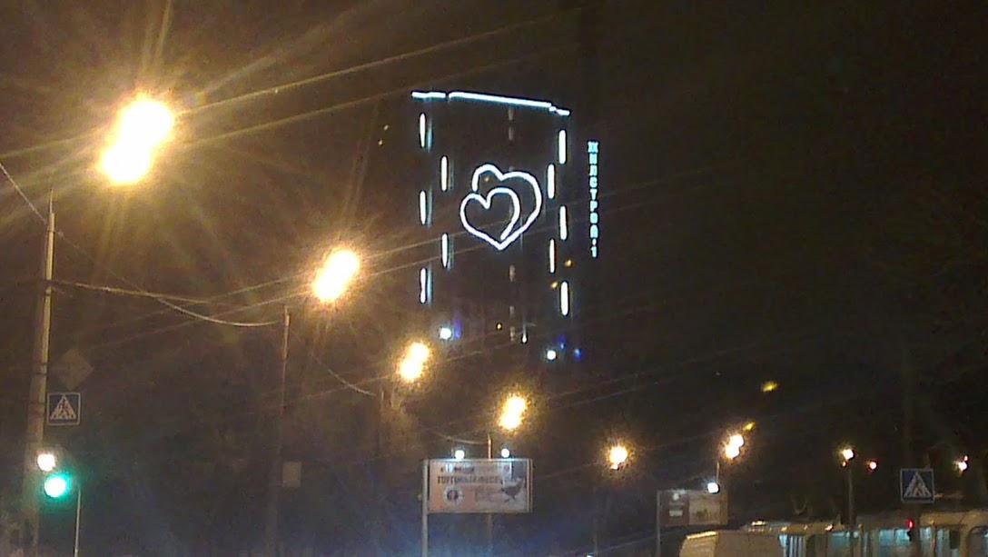 Светодиодные ДЕРЕВЬЯ уличные в Минске